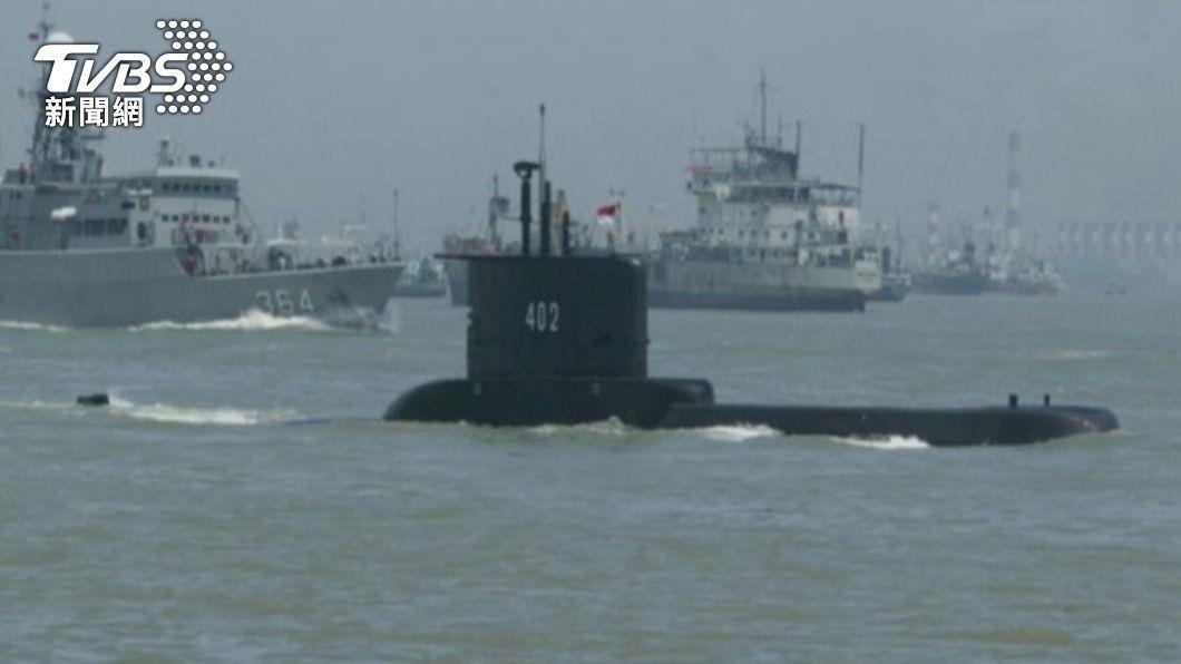 印尼軍方證實艦上53人全數罹難。(圖/中央社) 印尼失聯潛艦尋獲! 53人全數罹難