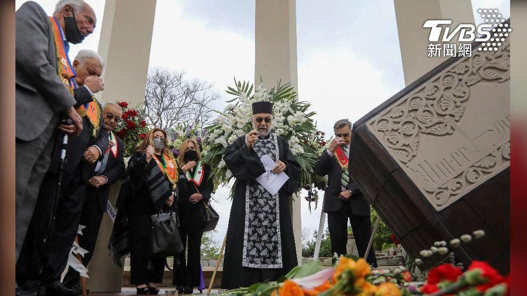 圖/達志影像路透社 亞美尼亞大屠殺106週年 拜登正式宣告為種族滅絕