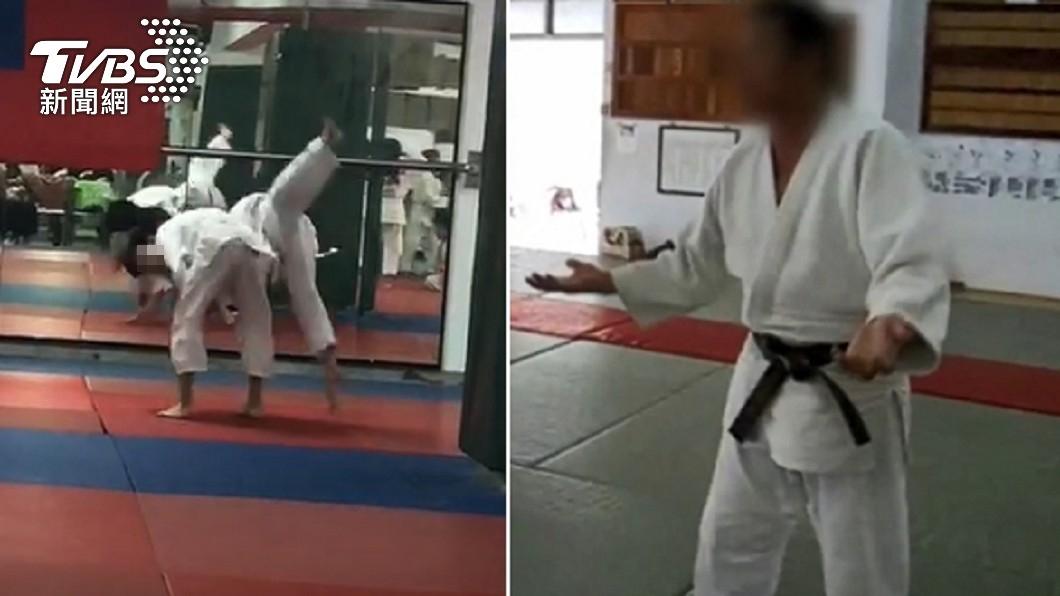 何姓教練在偵訊時,表明自己訓練在合理範圍。(圖/TVBS) 起底冷血教練是法警!柔道6段「暴毆犯人」慘丟工作