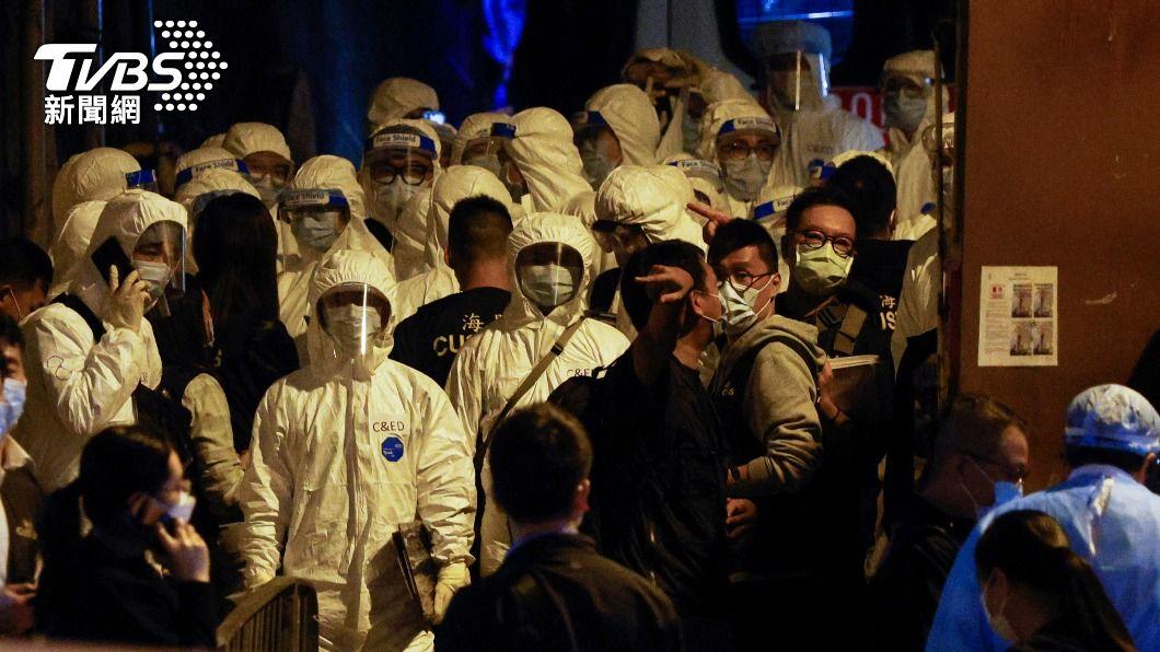 香港目前累計23例接種疫苗後死亡事件。(圖/達志影像路透社) 香港再添接種疫苗後死亡案例 至今累積23起