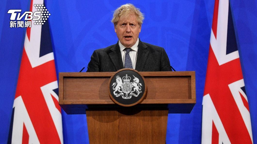 英國首相強生日前遭幕僚爆料挪用捐款翻新官邸。(圖/達志影像路透社) 前幕僚失控大爆料 直指英相強生「無能又沒誠信」