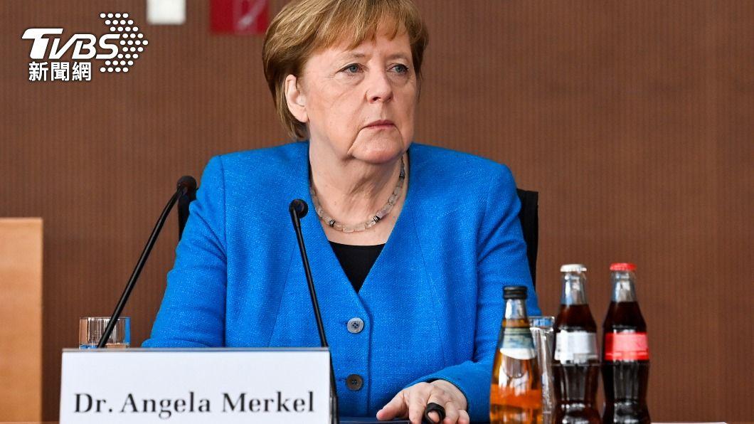 德國總理梅克爾表示政府準備向印度提供緊急援助。(圖/達志影像路透社) 印度疫情狂燒 德總理梅克爾:政府將提供緊急援助