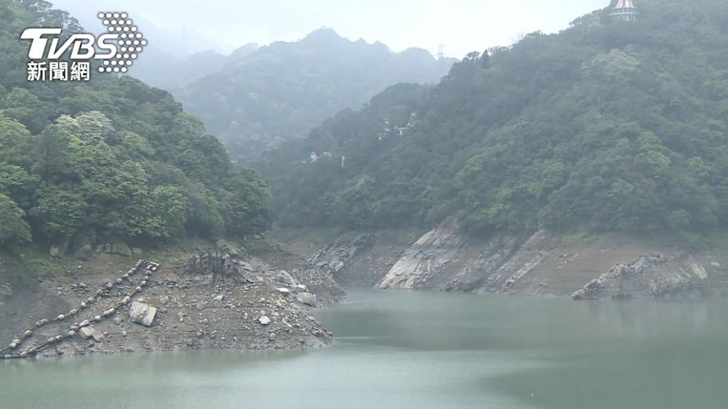 新竹地區與曾文水庫至今仍缺水。(圖/TVBS資料畫面) 華南雲雨難解渴 台水庫比去年同期水量差33%