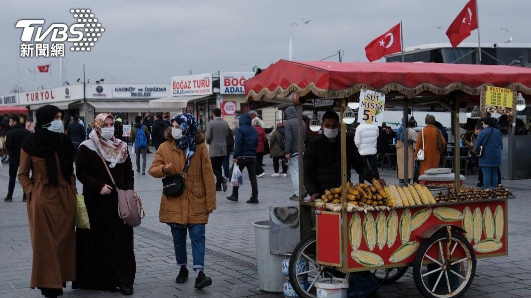 (圖/達志影像路透社) 土耳其疫情有好轉跡象 傳內閣考慮全面封鎖