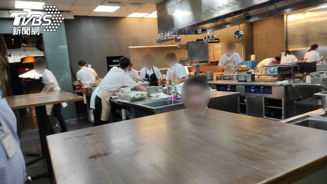 米其林二星餐廳RAW違反「食安法」。(圖/中央社) 江振誠「米其林餐廳RAW」食安3缺失 衛生局限期改善