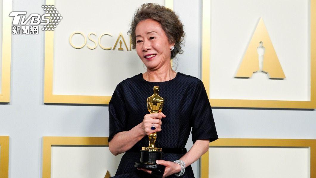 韓國演員尹汝貞。(圖/達志影像路透社) 為生計演戲到奧斯卡最佳女配角 尹汝貞走出寬廣戲路