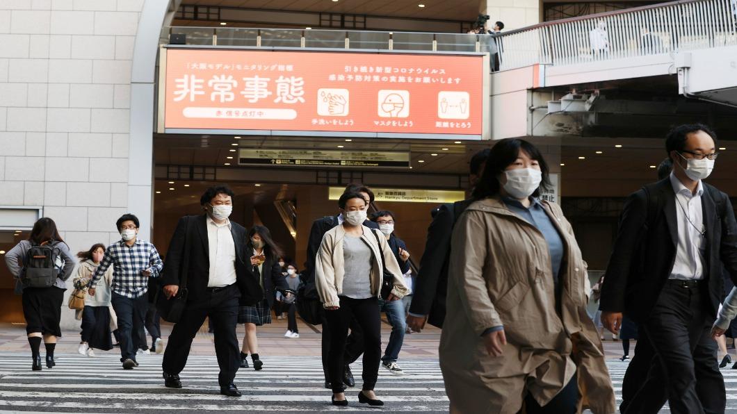 圖/達志影像美聯社 三度緊急事態宣言跨黃金周!東京加碼晚上8點街頭熄燈