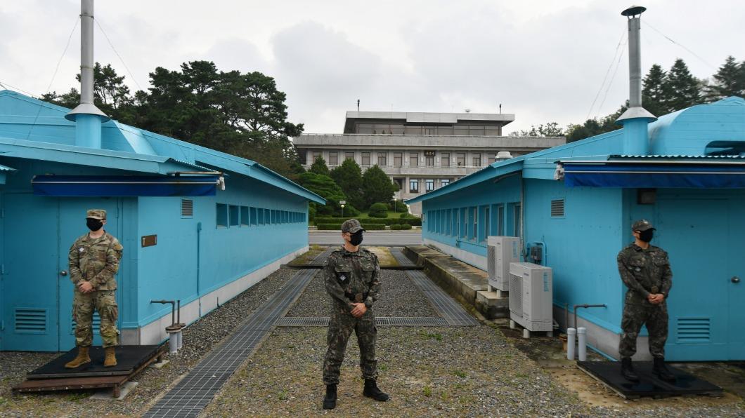 圖/達志影像路透 「板門店宣言」滿三年 南北韓僵局未解