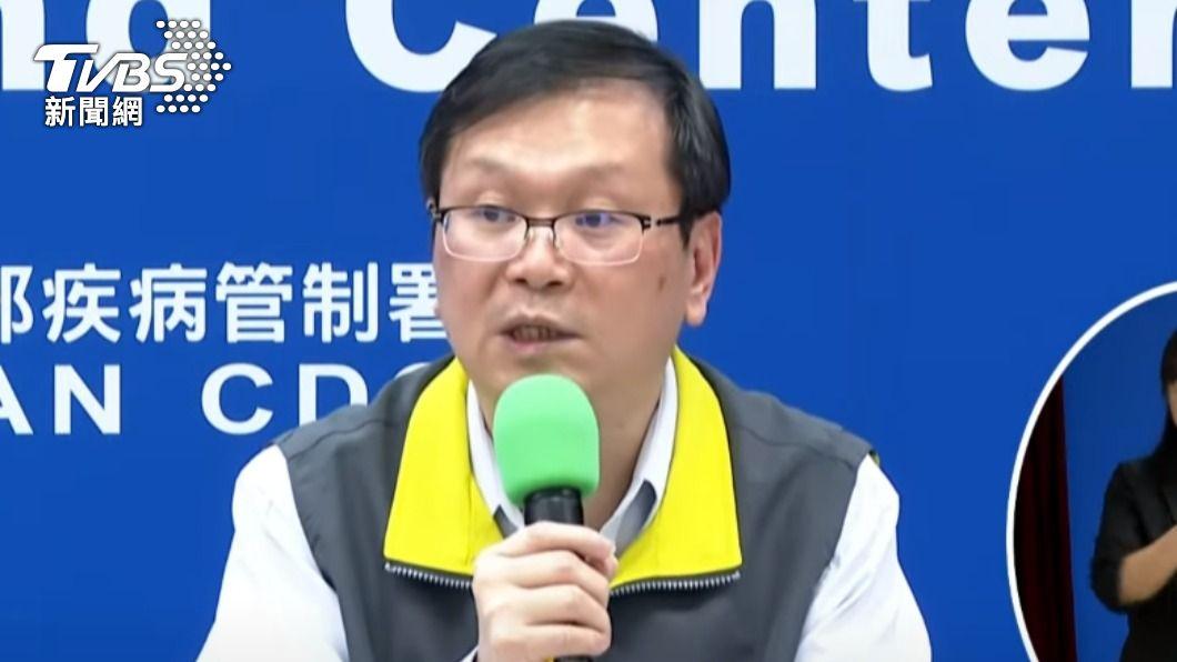 中央流行疫情指揮中心發言人莊人祥。(圖/TVBS) 泰國台商確診隔天偷返台 指揮中心緊急回應