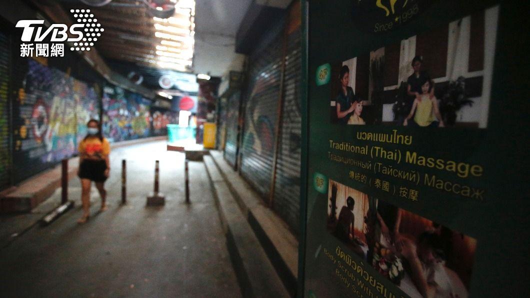 圖/達志影像美聯社 快訊/曼谷擴大封鎖!超商十點打烊 開車強制戴口罩