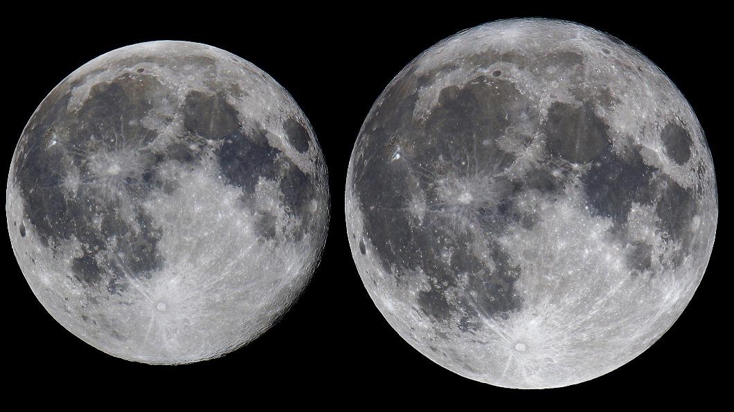 今晚將出現今年首次超級月亮。(圖/台北市立天文館) 本年首度「超級月亮」今晚升起 5月再現月食、超級滿月