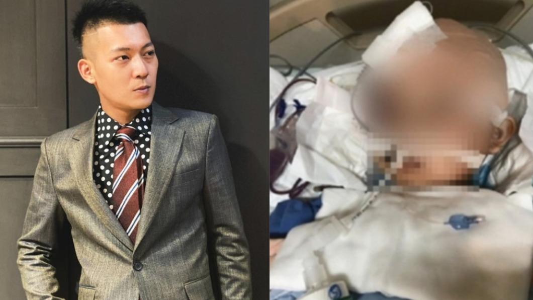 男童被摔到命危,鳳梨發文痛批教練。(圖/翻攝自鳳梨臉書、TVBS) 7歲男童遭狠摔腦死 鳳梨怒轟「無腦教練」:拳頭很硬