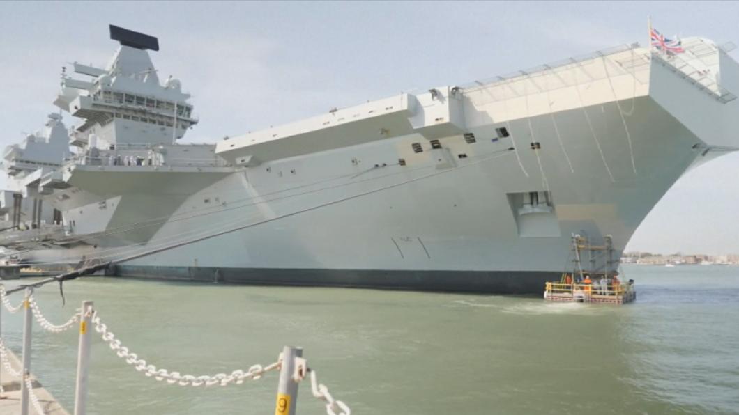 劍指中國!英航母5月遠航首停靠日本 將與10多國聯合軍演
