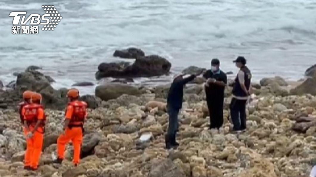 22日一名劉姓男子出門捕山蝦失蹤落海,今尋獲遺體。(圖/TVBS) 土地公入夢「去風吹沙走一走」 住持半年尋獲兩遺體