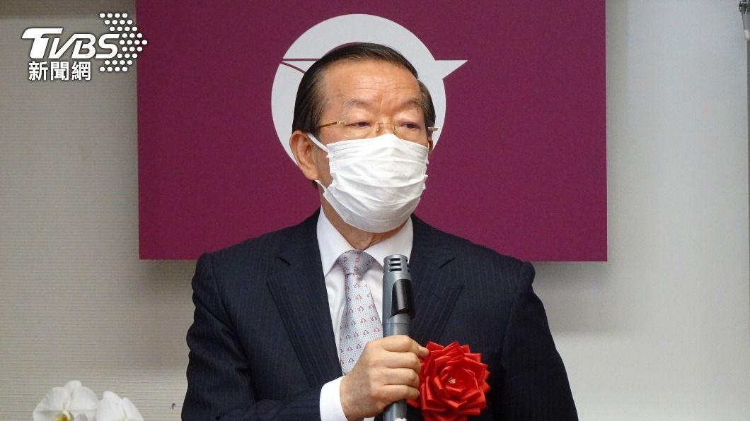 駐日代表謝長廷。(圖/中央社) 含氚核廢水排入海爭議 國民黨批總統府包庇謝長廷