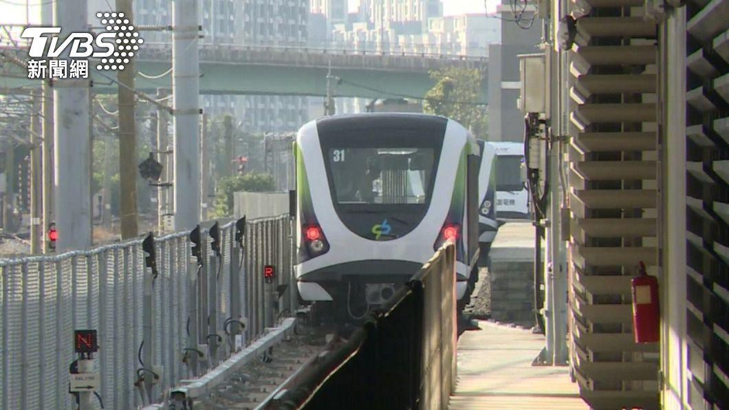 中捷於25日正式通車。(圖/TVBS) 中捷斷軸通車延後 議員要求向北市府索賠
