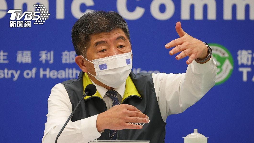 中央流行疫情指揮中心指揮官陳時中。(圖/TVBS) 今新增12境外 自菲律賓、越南及印尼入境