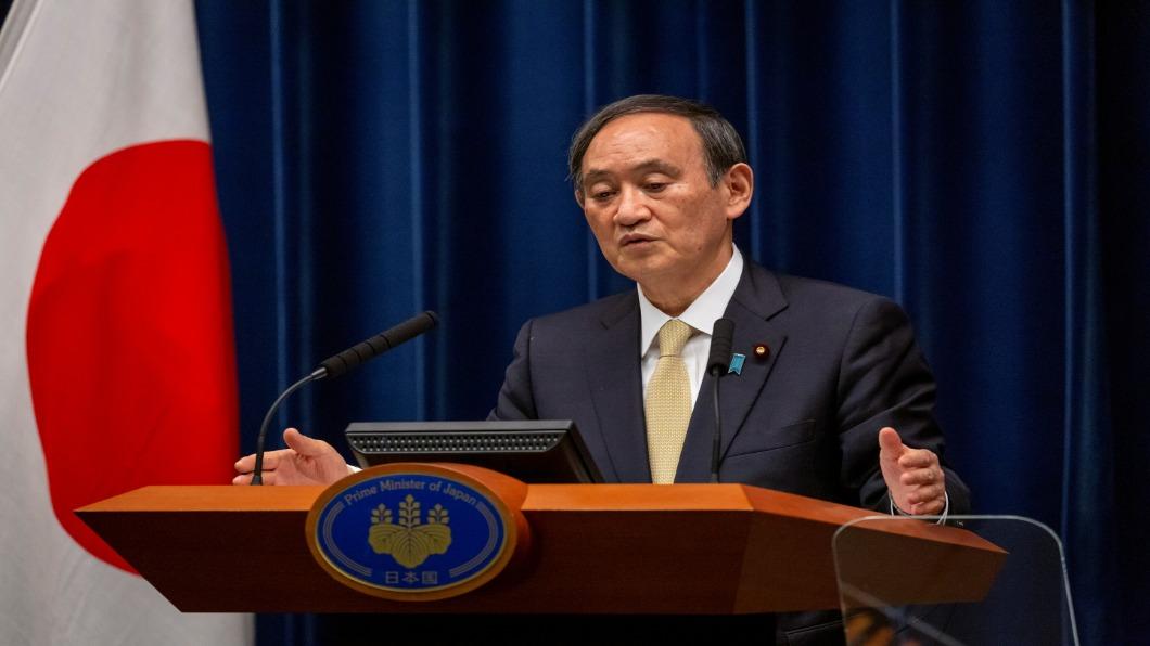 日本首相菅義偉。(圖/達志影像路透) 日本疫苗接種醫護人力不足 首相菅義偉:牙醫師也要幫忙