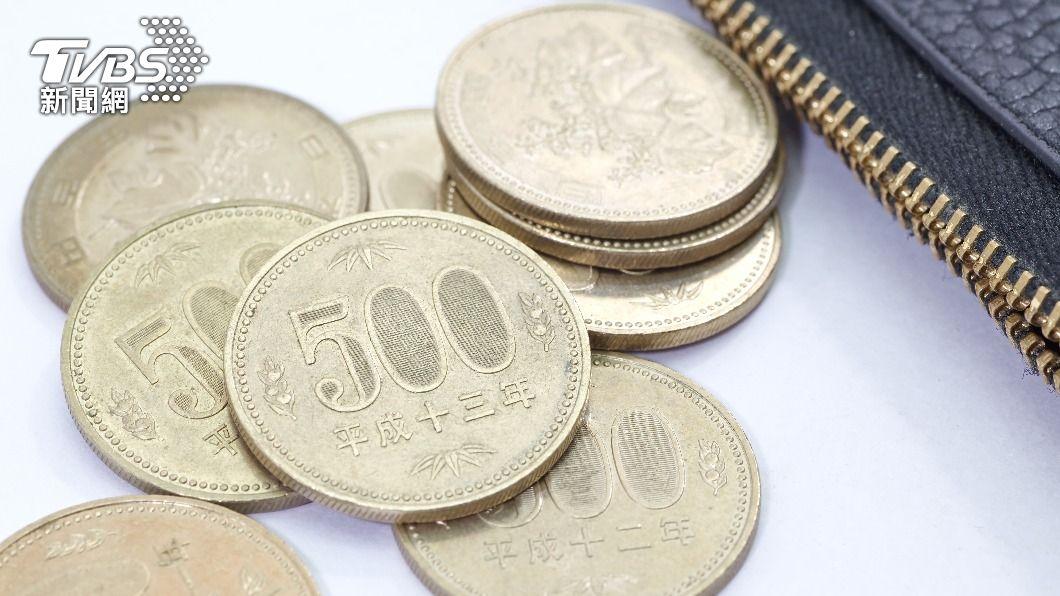 500日圓硬幣。(示意圖/shutterstock 達志影像) 日本擬11月推出500日圓新硬幣 首年度發行2億枚