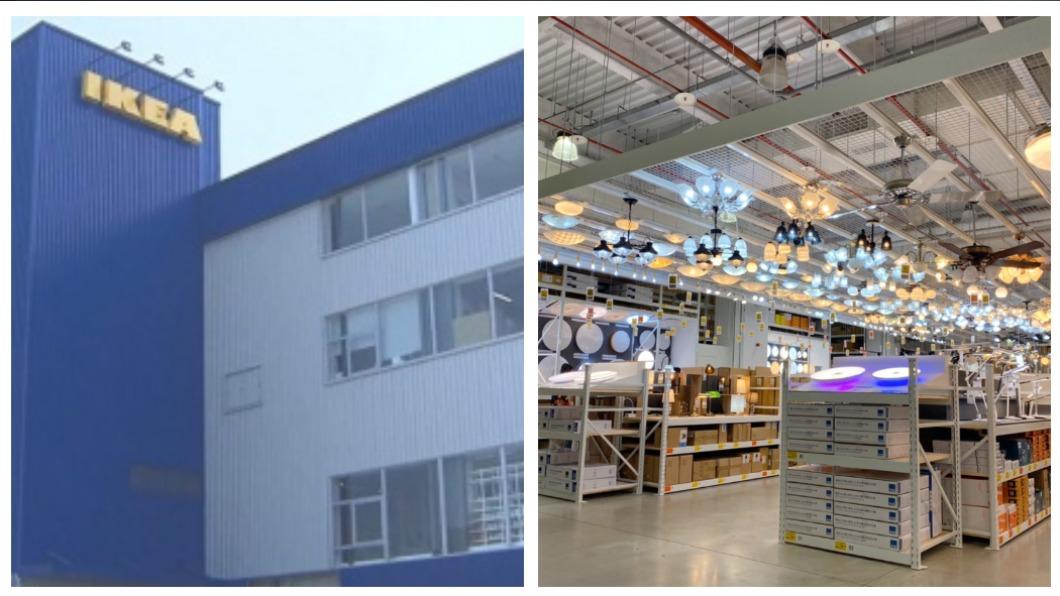 因應IKEA進駐內湖,特力屋耗費5個月重新改裝。(圖/IKEA、特力屋提供) 內湖家居賣場戰!IKEA進駐PK特力屋20年最大改裝