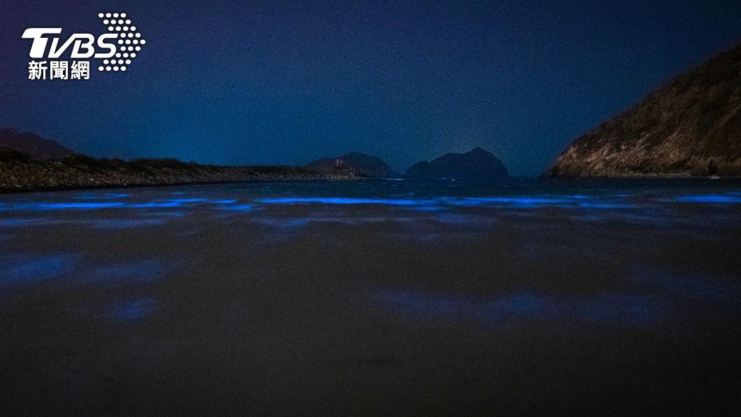 (圖/中央社) 夢幻「藍眼淚」季來臨 馬祖實施路燈夜間管制