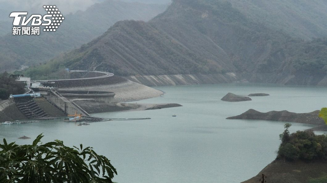 雨水有下對地方,北中南水庫都有進帳。(示意圖/中央社) 終於下雨了!北中南水庫有進帳 62萬噸水解渴