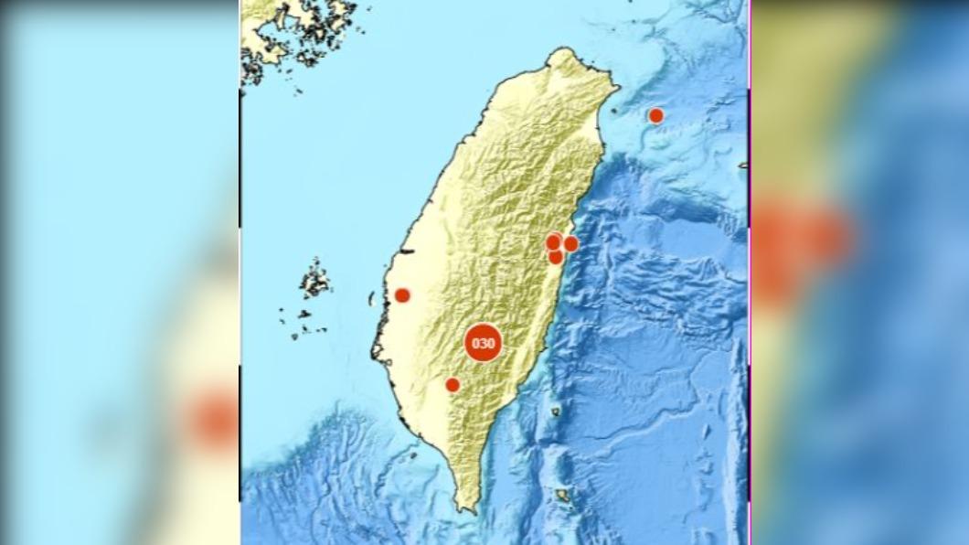 圖/中央氣象局 地牛翻身連三震!06:10規模4.6 震央都在台東海端