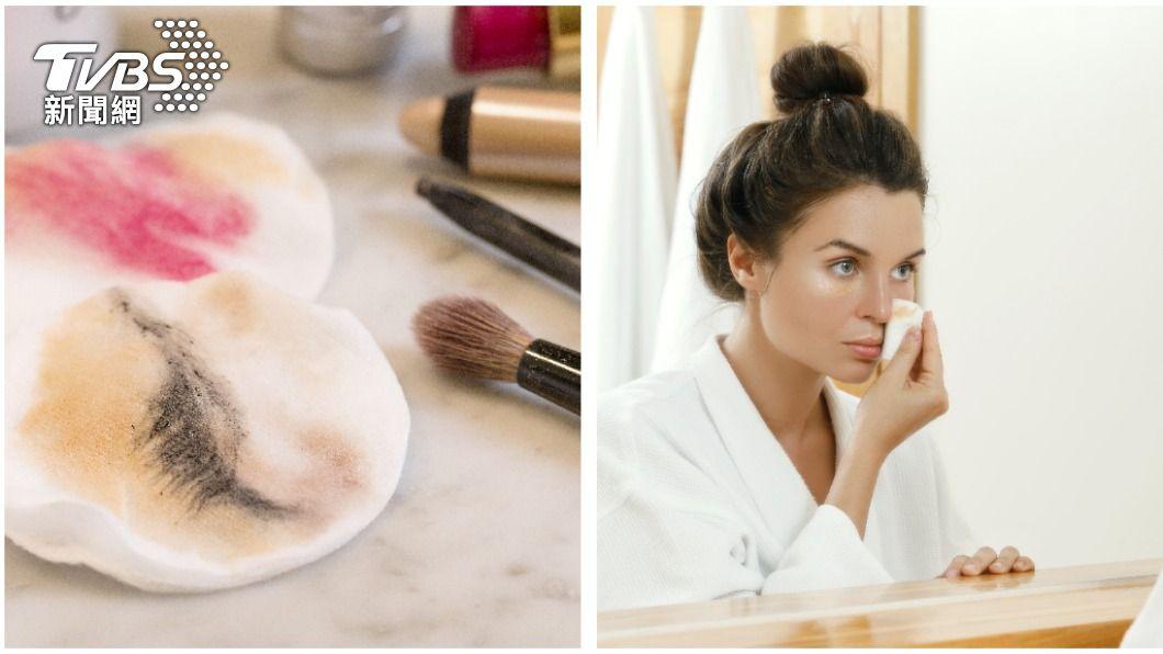 卸妝技巧正確與否是影響臉部膚況好壞的關鍵。(示意圖/shutterstock達志影像) 洗完臉還是狂冒痘?5大「卸妝地雷」保養品再好也難救