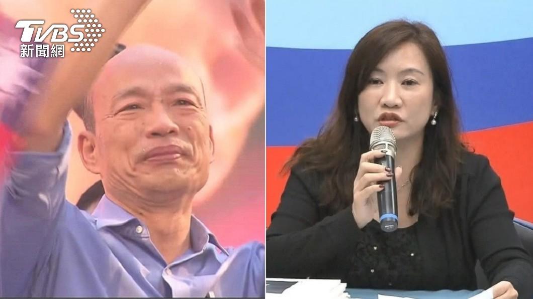 被視為韓國瑜子弟兵。(圖/TVBS資料畫面) 韓國瑜子弟兵爆「跑選戰流產」!曝心碎過往:沒保住孩子