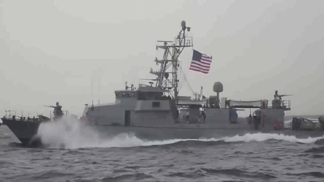 伊朗武裝快艇逼近 美巡邏船波灣開火示警
