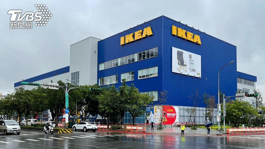IKEA內湖店開幕今開幕。(圖/中央社) IKEA內湖店開幕! 北市警加強交通管制:違停拖吊