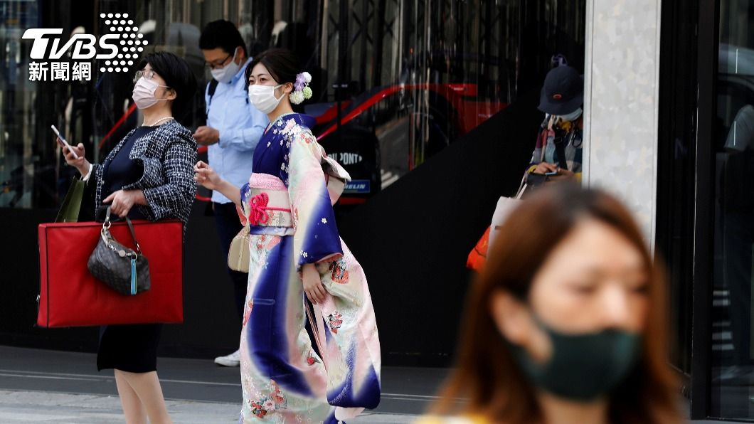日本疫情未歇。(圖/達志影像路透社) 日本疫情延燒!黃金週長假前夕 東京疾呼不要來首都圈