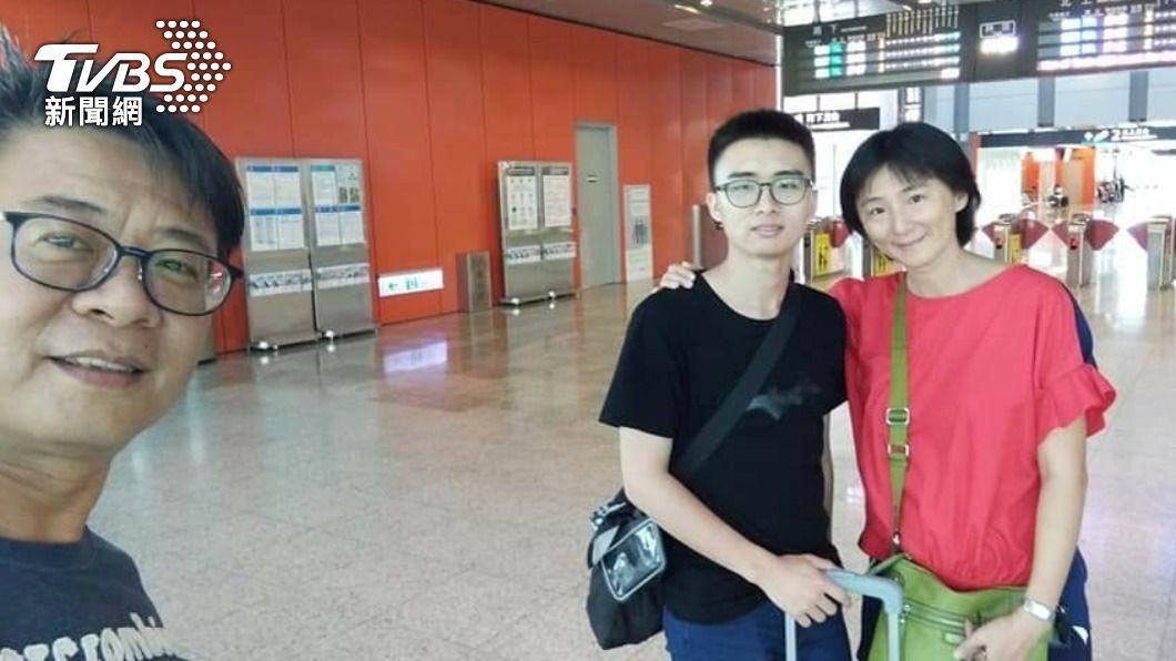 24歲的蘇威宇去年在寢室昏厥,送醫後已成植物人。(圖/TVBS) 洪仲丘第二!上兵缺氧成植物人 家屬捐眼角膜遺愛人間