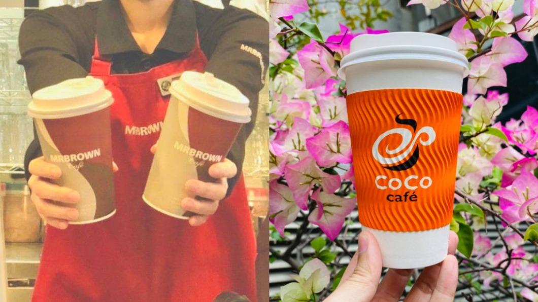 手搖飲與咖啡業者推出5月好康優惠。(圖/翻攝自伯朗咖啡館、CoCo都可臉書) 5月飲料優惠懶人包! 爽喝買一送一、第二杯半價