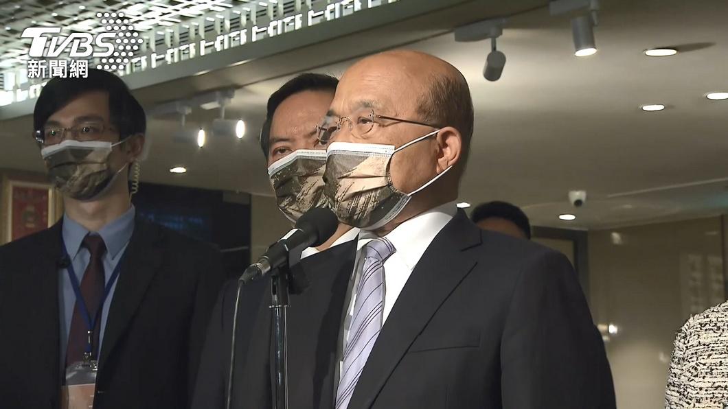 圖/TVBS資料畫面 快訊/政院今召開疫情會議 蘇揆:檢討防疫作為
