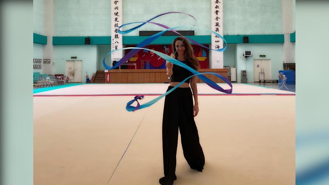瑞莎長期在台培訓韻律體操選手。(圖/翻攝自瑞莎臉書) 觀點/瑞莎引爆基層體壇風暴 他點出關鍵原因