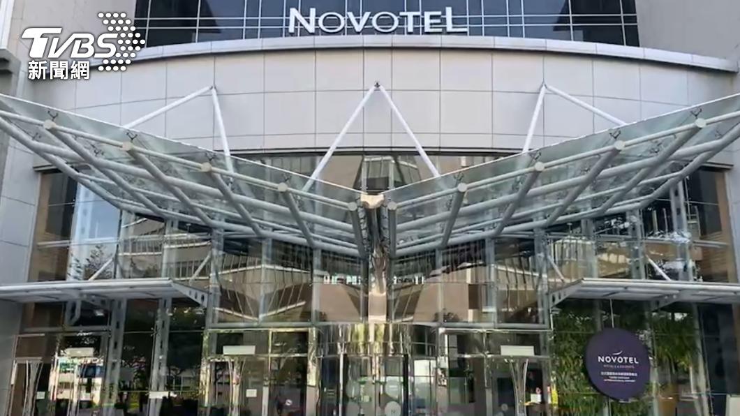 (圖/TVBS) 諾富特飯店染疫主管、2員工足跡曝光 曾至中壢7地點