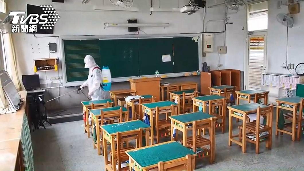 北市府宣布高中(含)以下學校停課至28日。(示意圖/TVBS) 不只高中職以下!柯文哲喊話「教育部」:大學也該停