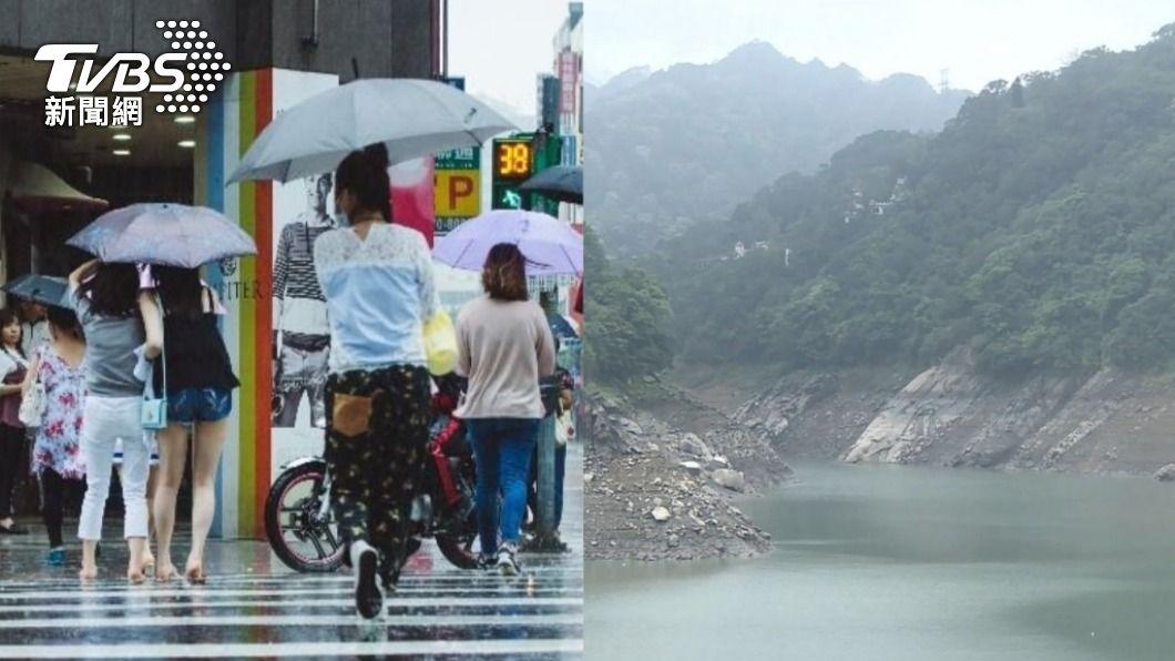 近日降雨仍難紓解嚴峻水情。(示意圖/shutterstock 達志影像、TVBS資料畫面) 5月梅雨季有望舒緩旱象?鄭明典:南部考驗才剛開始