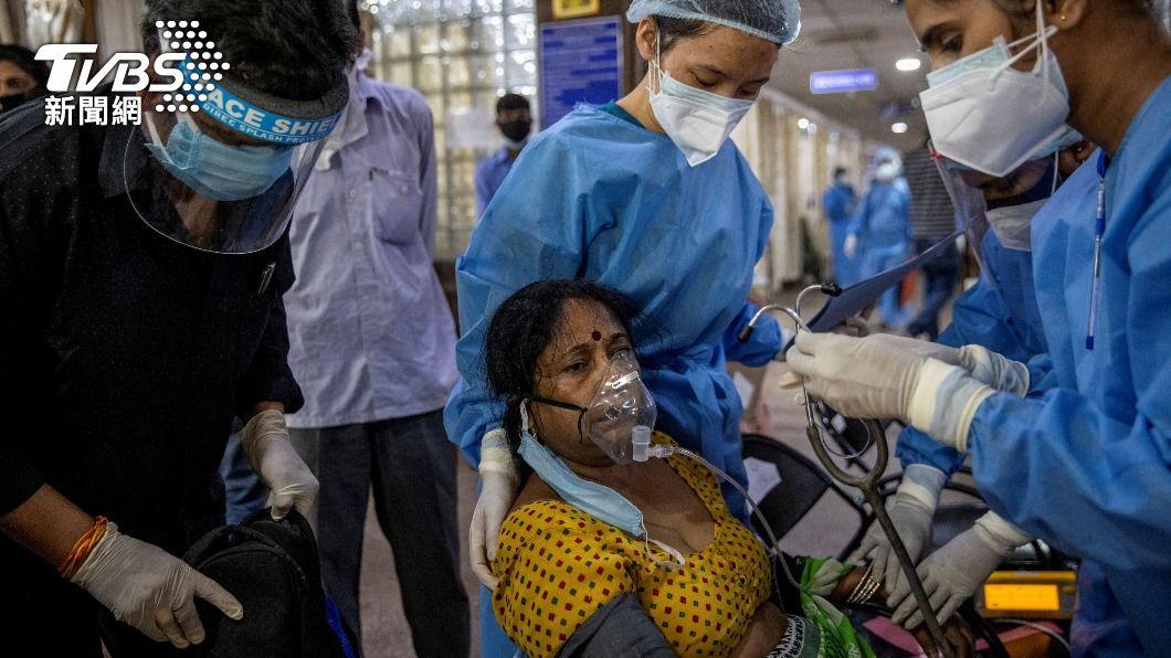印度疫情失控。(圖/達志影像路透社) 印度疫情如人間烈獄 國際專家籲應求助大陸疫苗