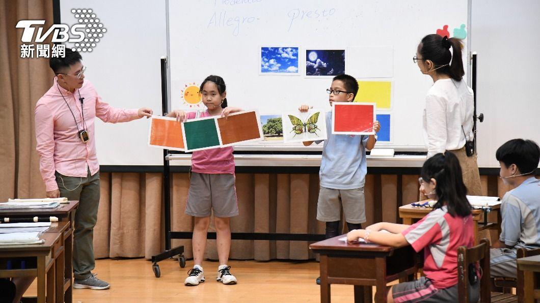 花蓮縣府預估今年在新增13所雙語試辦學校。(圖/中央社) 花蓮縣府推動雙語教育 擬今年再增13所試辦學校