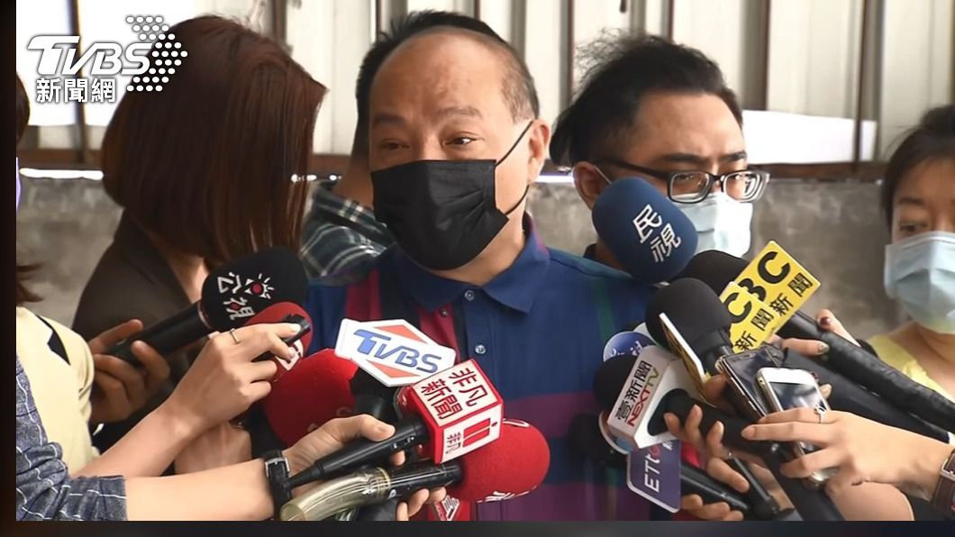 圖/TVBS 兒涉販毒詐欺遭聲押 趙映光宣布辭民進黨部評召