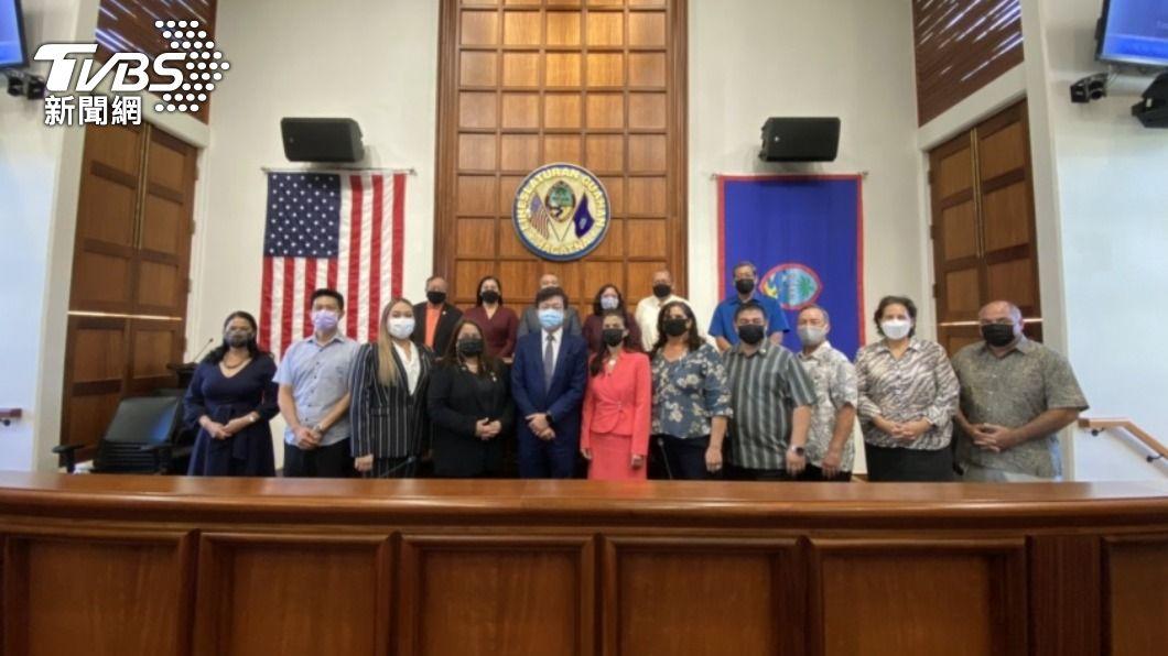 關島議會通過支持台灣成為WHA觀察員。(圖/中央社) 關島議會肯定台「公衛成就」 通過決議支持參與WHA