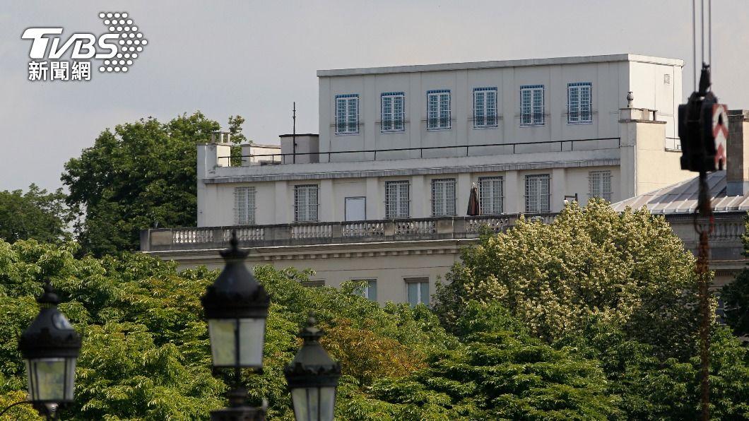 美國駐法大使館。(圖/達志影像路透社) 台美斷交後首次 駐法代表受邀進入美國駐外使館