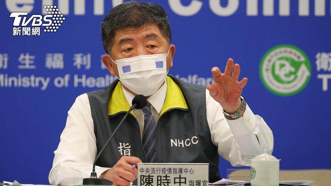 中央流行疫情指揮中心指揮官陳時中。(圖/中央社) 今新增3境外移入 自菲律賓及印尼入境