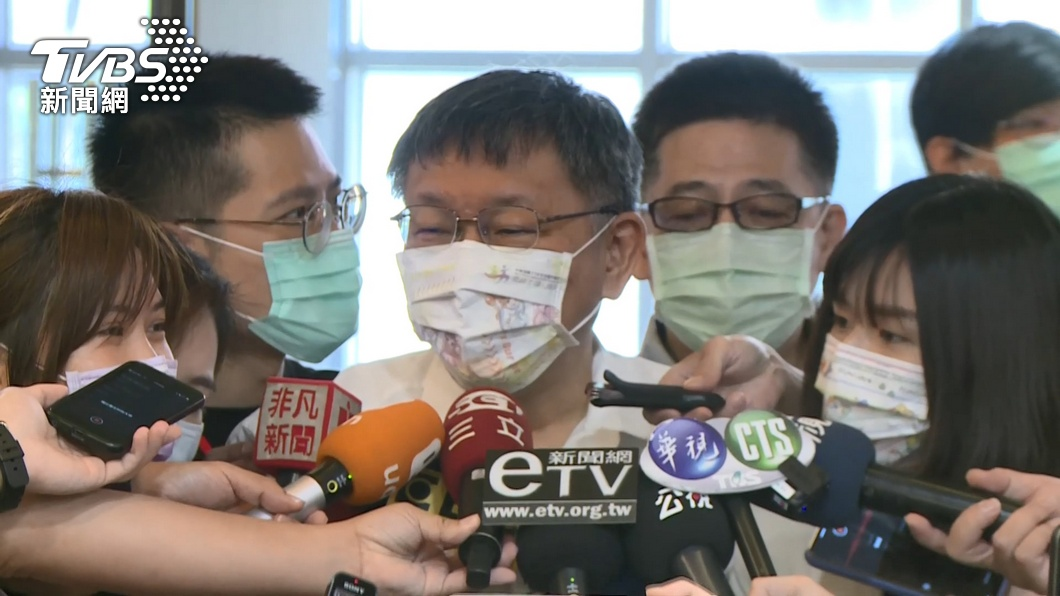 台北市長柯文哲。(圖/TVBS) 主張不蓋核四 柯文哲:台灣若發生核災就是「滅國」