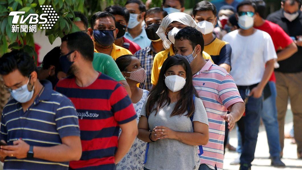 外交部證實,有10名台灣人在印度進行居家隔離。(圖/達志影像路透社) 印度首位台幹染疫亡 外交部證實仍有10人隔離中