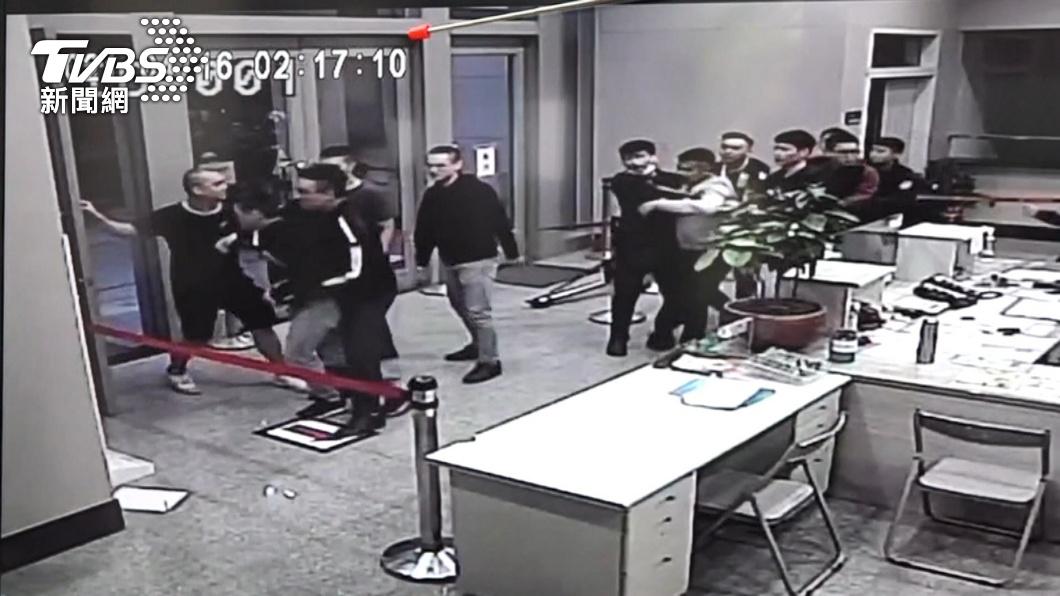 松山分局之亂共3人遭起訴。(圖/TVBS) 松山分局之亂僅「他」被起訴!北檢偵辦過程全曝光