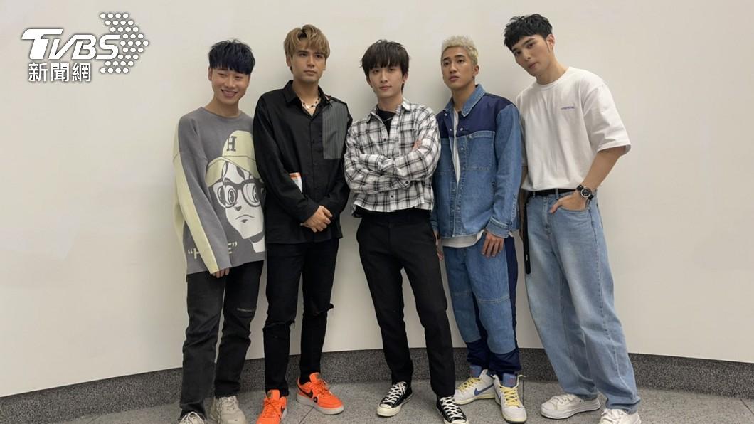 「五堅情」為KKBOX音樂風雲榜十大年度風雲歌手之一。(圖/TVBS資料畫面) 五堅情紅翻天! 年輕人最哈「台灣偶像團體」排行出爐