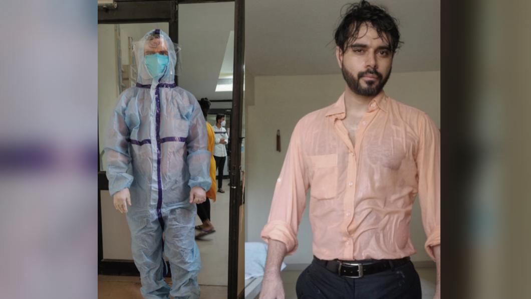 穿防護衣15小時拚救人 印度醫曬「濕身照」